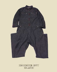 ENGENEER SUIT(BLACK)