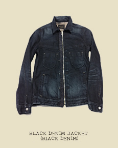 BLACK DENIM JACKET (BlACK DENIM)