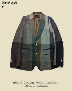 MULTI COLOR WOOL JACKET (MULTI COLOR)