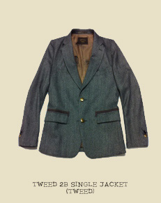 TWEED 2B SINGLE JACKET (TWEED)