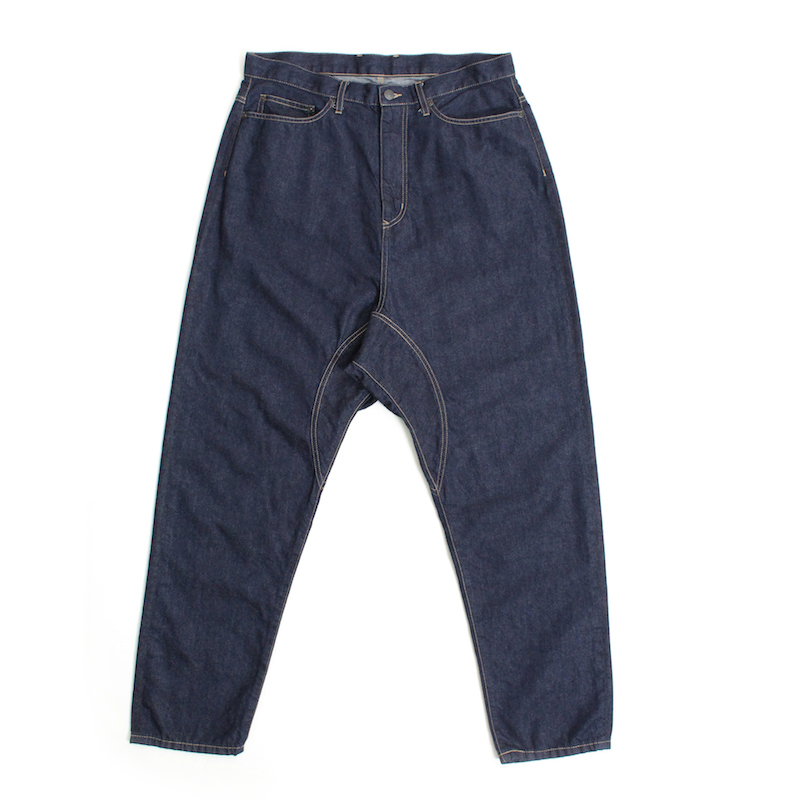 Enharmonic TAVERN Sarouel Denim Pants -Indigo
