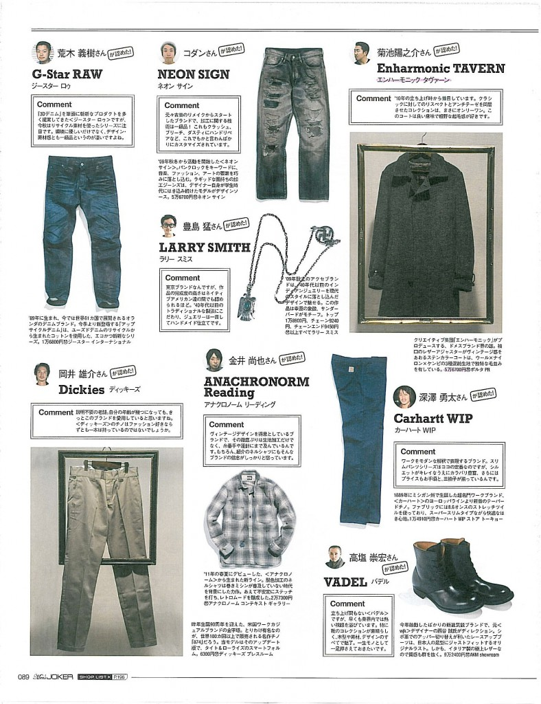 Men's JOKER 10 issue TAVERN1